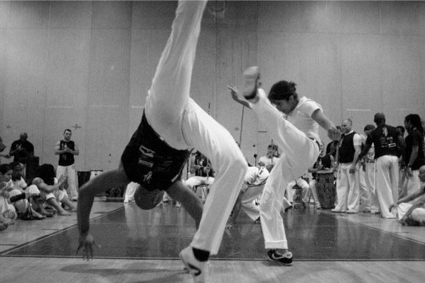 Testing for my third cord for Capoeira at the Capoeira Maranhao Batizado 2011
